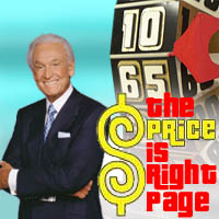 Price Is Right Page